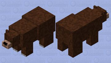The cave bear (prehistoric skin contest) Minecraft Mob Skin