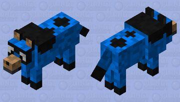 Bluey Heeler Minecraft Mob Skin