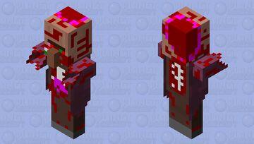Priest Zombie Villager Update Minecraft Mob Skin