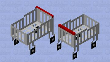Shopping cart Minecraft Mob Skin