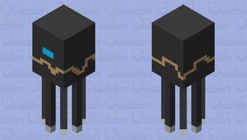 GARDIEN SQWID Minecraft Mob Skin