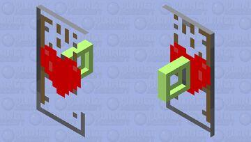 Valentine's Day shield Minecraft Mob Skin