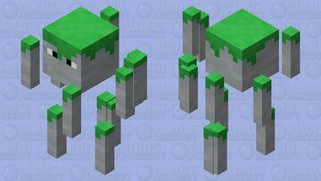 Jungle Blaze Minecraft Mob Skin