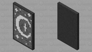 Gothic moon cape Minecraft Mob Skin