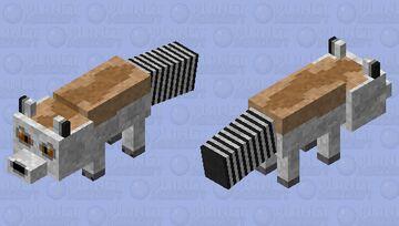 Ring-tailed Lemur Minecraft Mob Skin