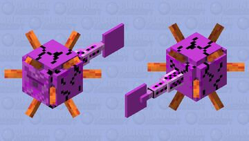 Death Fish - The Guardian in the water Minecraft Mob Skin