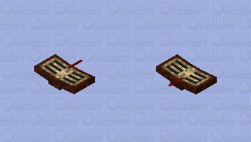 Flying Book Minecraft Mob Skin
