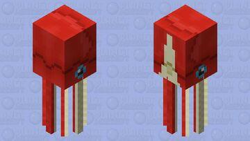 big deep sea squid Minecraft Mob Skin