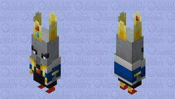 Arch-illager / from Minecraft Dungeons / with accessories / remade Minecraft Mob Skin