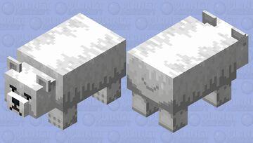 The Polar bear Minecraft Mob Skin