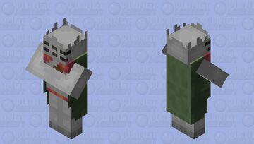 Armored Villager Minecraft Mob Skin