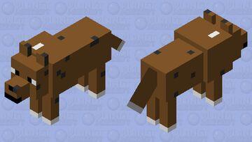 Dog 2 Minecraft Mob Skin