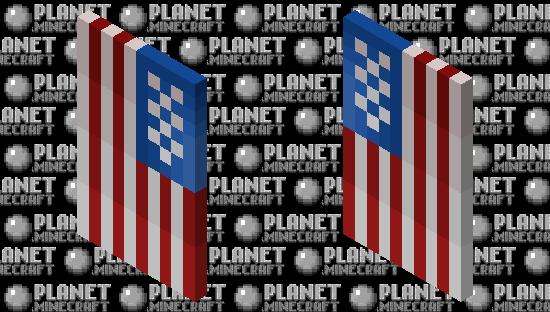 USA's Flag Minecraft Skin
