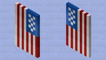 USA's Flag Minecraft Mob Skin