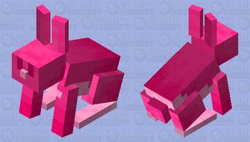 Raspberry Rabbit Minecraft Mob Skin