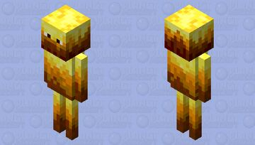 Blaze / original shape / read the description Minecraft Mob Skin