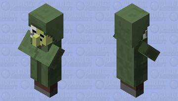 undead friendly villager Minecraft Mob Skin