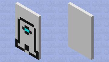 Amogus Cape Minecraft Mob Skin