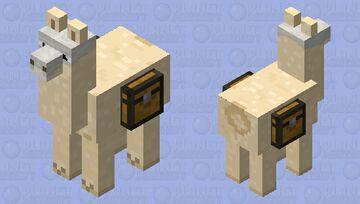 Skull llama Minecraft Mob Skin