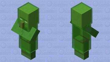 villager final form Minecraft Mob Skin