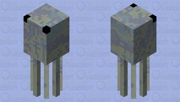 Silversquid Minecraft Mob Skin