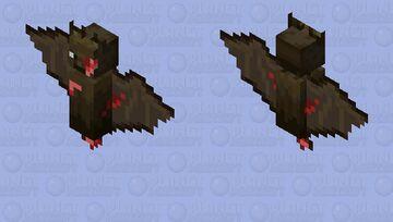 Bloody bat Minecraft Mob Skin