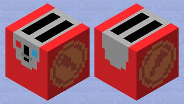 TF2 Scout Toaster (Red) Minecraft Mob Skin