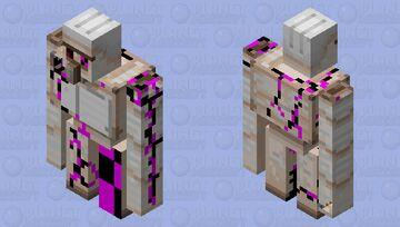 corrupted golem Minecraft Mob Skin