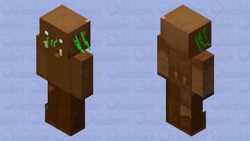 Tree  Man Mini Minecraft Mob Skin