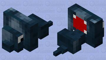 Squilverfish Minecraft Mob Skin
