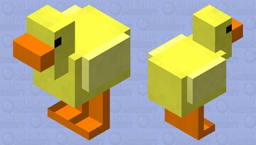 Spring Chick Minecraft Mob Skin