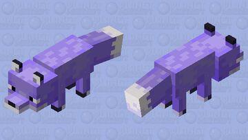 Lavender Fox Minecraft Mob Skin