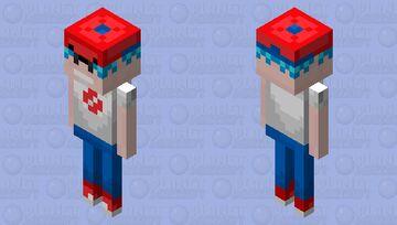 The Boyfriend [Remastered] Minecraft Mob Skin
