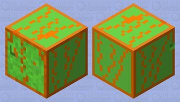 Molten Slime(Melted Slime) Minecraft Mob Skin