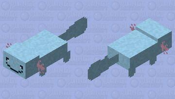 Wooper - Pokemon Axolotl Replacer Minecraft Mob Skin