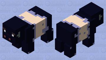 Sooty pig Minecraft Mob Skin