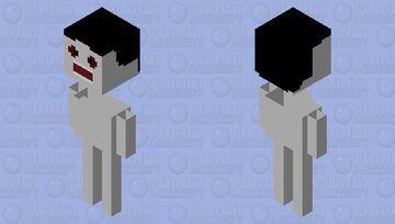 Photo bomb (Trevor Henderson) uprating Minecraft Mob Skin