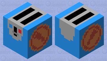 TF2 Scout Toaster (Blu) Minecraft Mob Skin