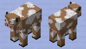 Jellatin - Brown Mooshroom Minecraft Mob Skin