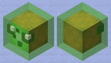 ~+  🥝kiwi slime🥝  +~ Minecraft Mob Skin