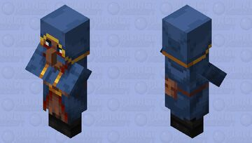The Wandering Trader Minecraft Mob Skin