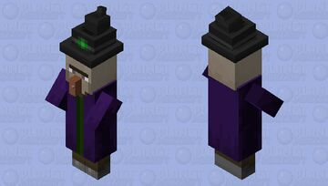 Witch Arms Texture Minecraft Mob Skin