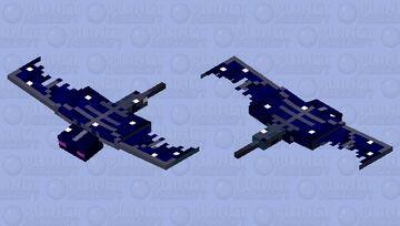 Phantom but i made it look more like the night sky Minecraft Mob Skin