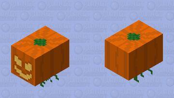 Floating Pumpkin Minecraft Mob Skin