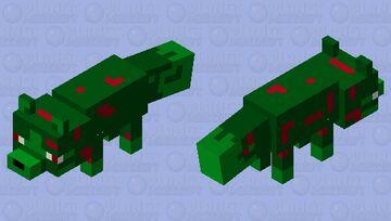 ZOMBIFIED FOX Minecraft Mob Skin
