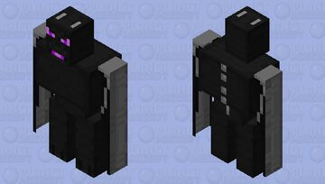 Dragon Golem Minecraft Mob Skin