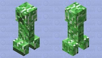 'Softer' Creeper Minecraft Mob Skin