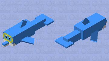 Mario dolphin Minecraft Mob Skin