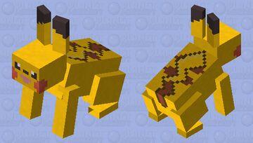 Pikachu - Pokemon Rabbit Replacer Minecraft Mob Skin
