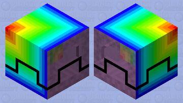 Rainboklr box Minecraft Mob Skin